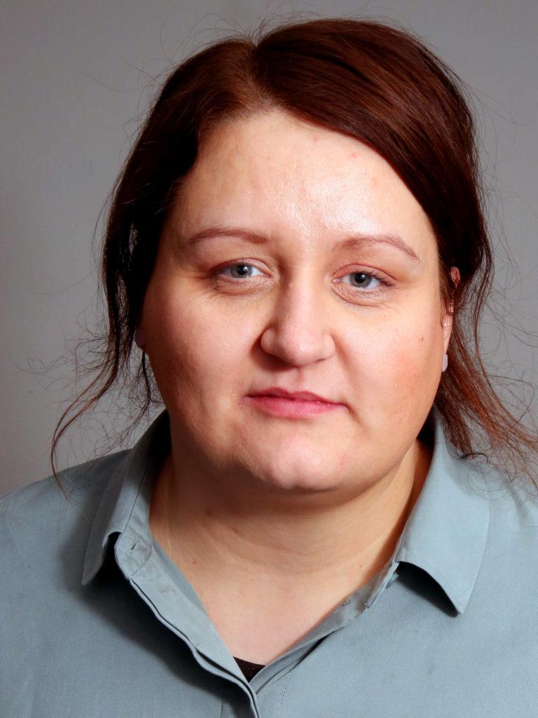 Portrettbilde av Hlene Lund. Foto.