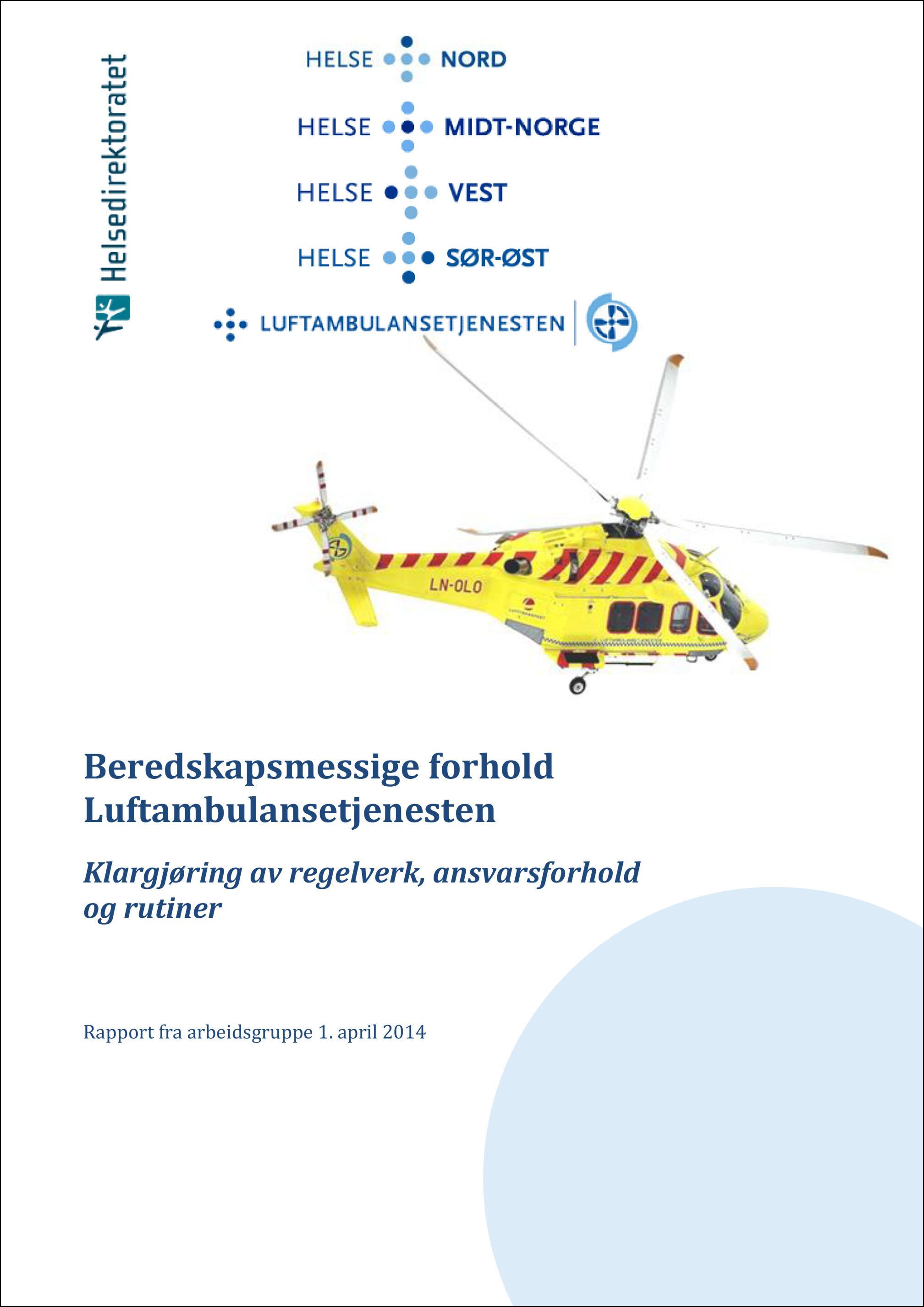 Bilde av forside på rapport